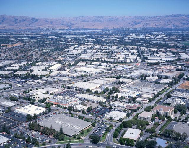 シリコンバレー空撮 カリフォルニア アメリカ[01500010081]| 写真素材 ...
