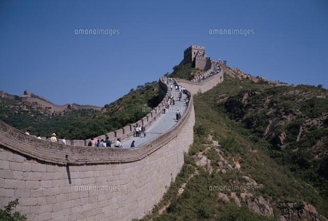 万里の長城 北京 中国(c)CROSS WAVE/SEBUN PHOTO