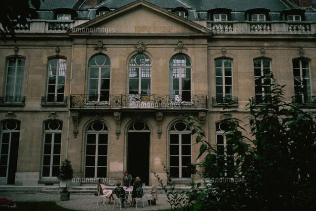 パリ国立美術学校の建物外観 パリ フランス[02265017366]| 写真素材・ストックフォト・イラスト素材|アマナイメージズ