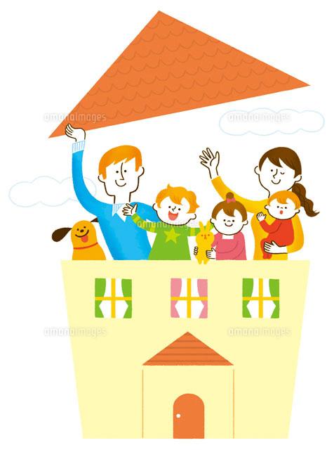 ファミリーと家のイメージ (c)Asterisk