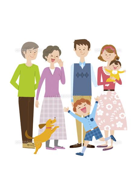 6人家族と犬 (c)Asterisk