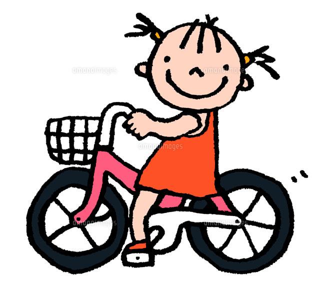 自転車の 自転車 素材 イラスト : ... イラスト素材|アマナイメージ