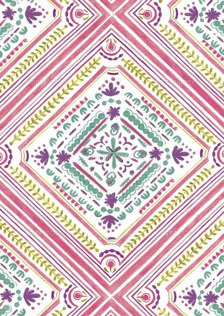 スカーフのような柄 (c)megumi masubuchi