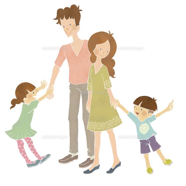 父母娘息子の4人家族 (c)megumi masubuchi