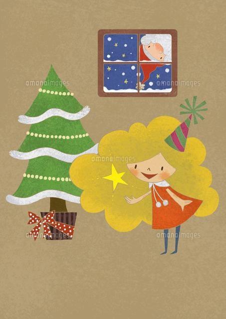クリスマスの女の子 (c)megumi masubuchi