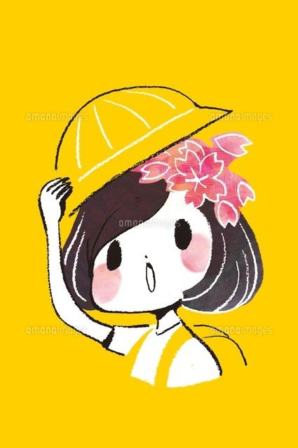 入学する新入生の女の子 (c)Asako Hashi