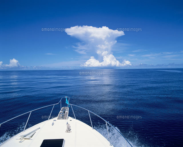 ボートの船首