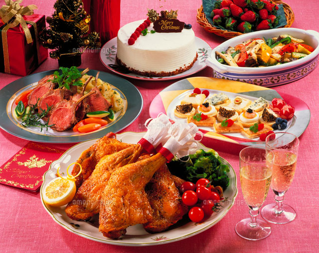 クリスマスディナーに簡単にできる子供に大人気の …