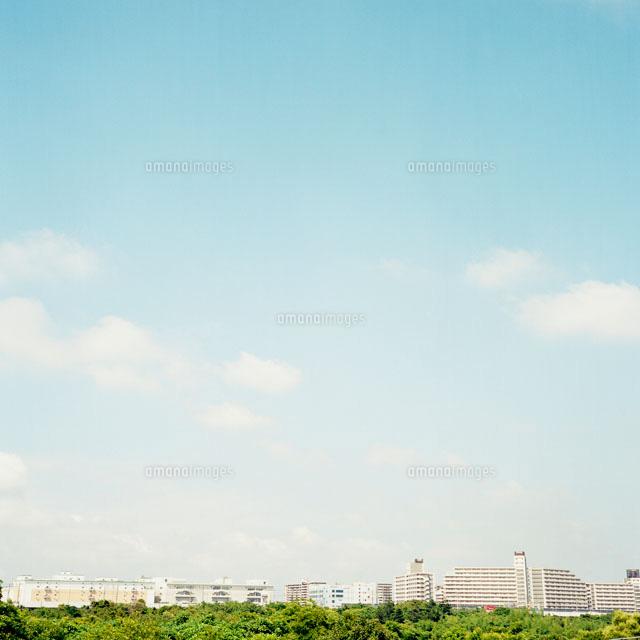 建物と公園と空(c)KATSURA KOMIYAMA/「PHaT PHOTOS」