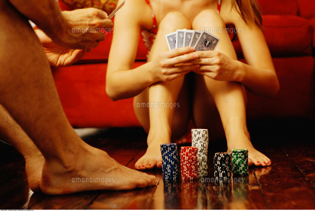 Couples Playing Strip Poker