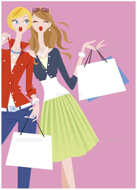 ショッピングを楽しむ女性2人 (c)SUNNY/WAHA