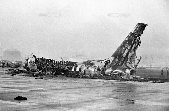東京羽田空港 カナダ太平洋航空402便着陸失敗事故 1966年3月4日
