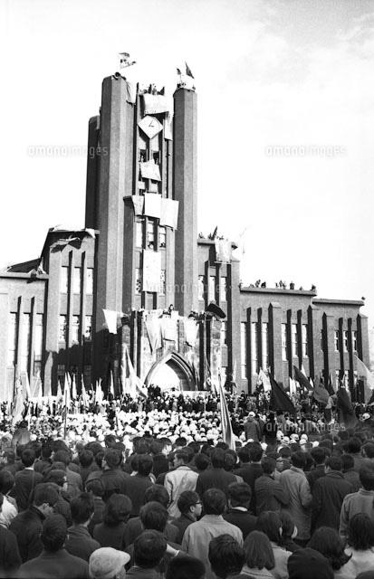 東大安田講堂事件 1969年1月18日 (c)Kaku Kurita