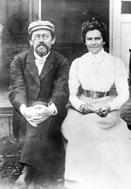 チェーホフと妻 に対する画像結果