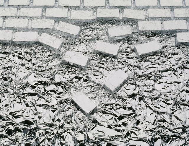 崩れる煉瓦[25055010764]| 写真素材・ストックフォト・イラスト素材 ...
