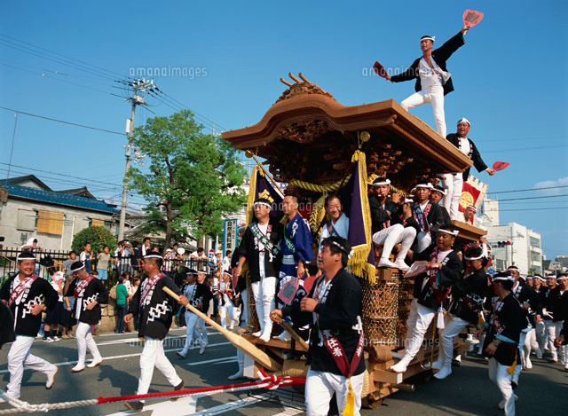 岸和田だんじり祭り(c)KEIZO WADA/SEBUN PHOTO