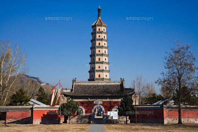 避暑山荘の永佑寺舎利塔[25125029887]| 写真素材・ストックフォト