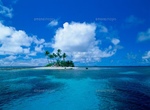 トラック環礁ジープ島 (c)TAKAJI OCHI/SEBUN PHOTO