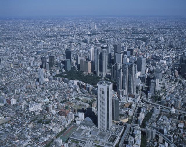 新宿高層ビル群周辺