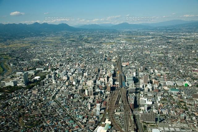 高崎駅と高崎市街地周辺