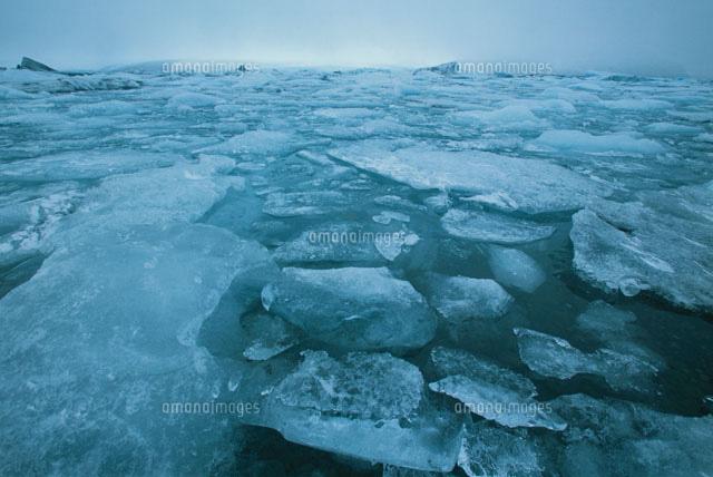 ヨークルスアゥルロゥンの流氷 アイスランド共和国