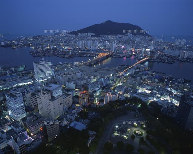 釜山タワーより夜景