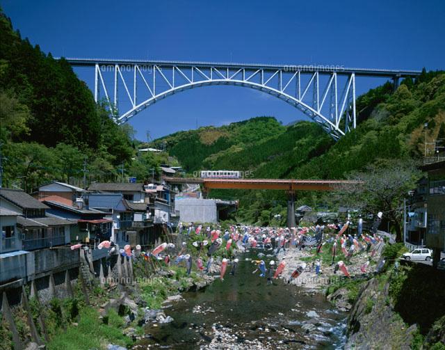 青雲橋と高千穂鉄道 日之影町[25778016254]| 写真素材・ストック ...