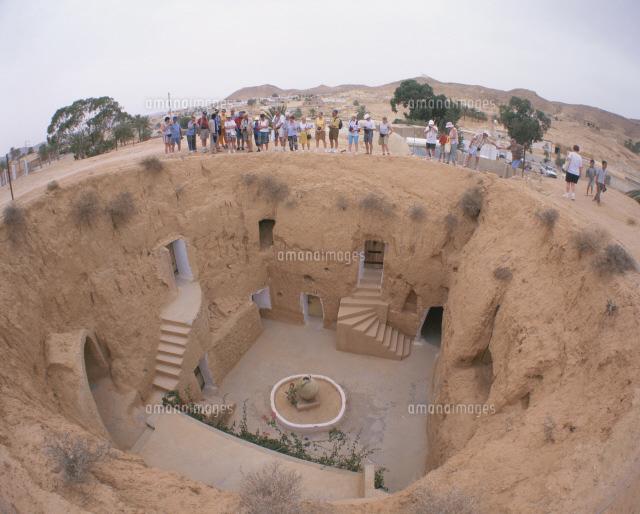 ベルベル族穴居人住居[25826001261]| 写真素材・ストックフォト ...