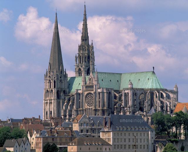 シャルトル大聖堂[25826024017]| 写真素材・ストックフォト・イラスト ...