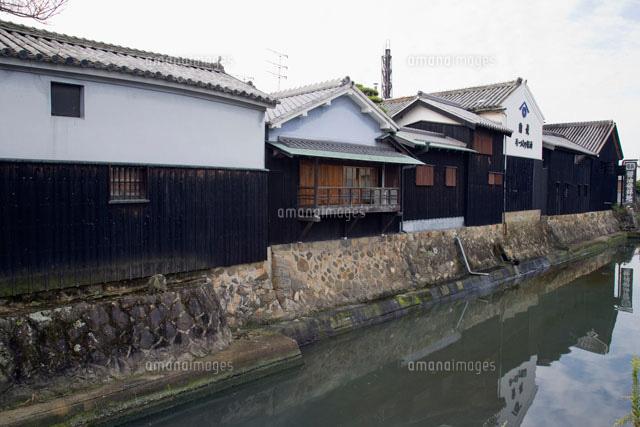 大仙堀と湯浅醤油醸造蔵[25990016523]| 写真素材・ストックフォト ...