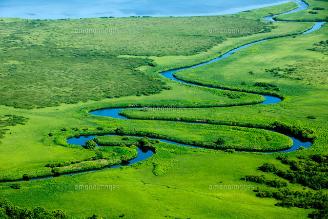 サロベツ<b>原野</b>サロベツ川[26058010671]| 写真素材・ストックフォト <b>...</b>