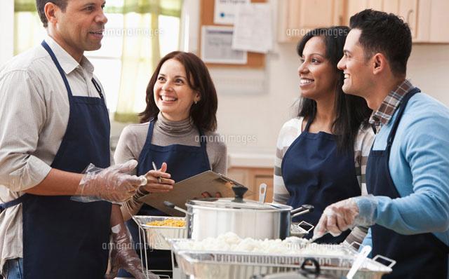 Soup Kitchen Volunteers 50100284499