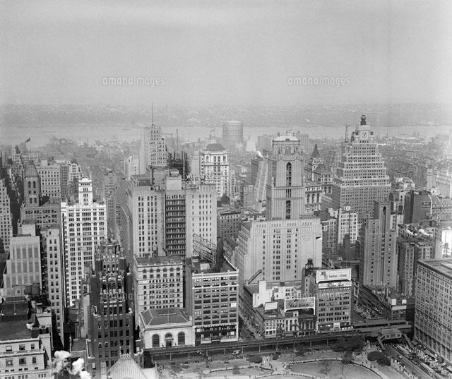 ニューヨーク(1920年代頃) 50111006367 | 写真素材・ストックフォト・イラスト素材|アマナイメージズ