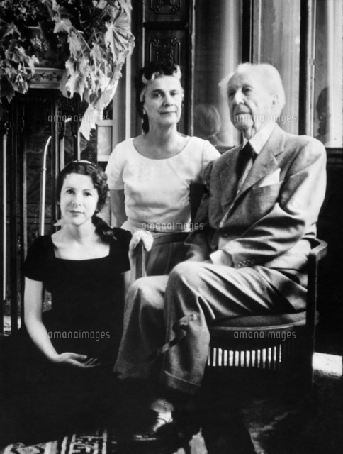 Frank lloyd wright and family 50111009626 for Frank lloyd wright parents