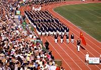 1984 ロサンゼルスオリンピック kishimoto の出版・報道・教育の写真・画像素材