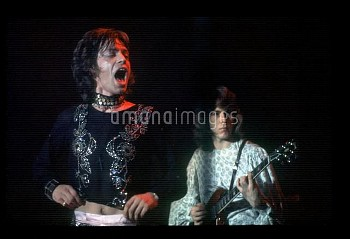 Mick Jagger, Mick Taylor, 1971 ROLLING STONES ©PLITZ-Good Times-VANIT/ DALLE