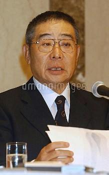 議員辞職を発表する大橋巨泉氏【要事前申請】