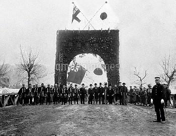 1902年 日英同盟条約祝賀アーチ【要事前申請】