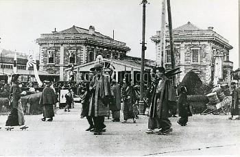 1904年 横浜市(現・西区高島=横浜停車場)(撮影年月日不明)【要事前申請】