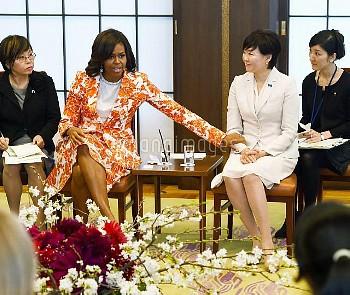 「女子教育支援を」日米連携 昭恵・ミシェル両夫人が講演【要事前申請】