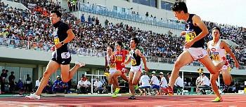 【要事前申請】9秒98を記録した桐生祥秀 男子100決勝 陸上・日本学生対校選手権