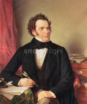 XAM68746 Franz Peter Schubert (1797-1828); by Rieder, Wilhelm August (1796-1880); oil on canvas; Wie
