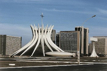 DGA419233 Cathedral of Brasilia (photo); Brasilia, Brazil; (add.info.: Catedral Metropolitana Nossa