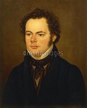 DGA576596 Austria, Portrait of Austrian composer Franz Peter Schubert (1797-1828); (add.info.: Austr