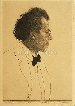 DGA576147 Austria, Vienna, Portrait of composer Gustav Mahler; (add.info.: Austria - 19th-20th centu