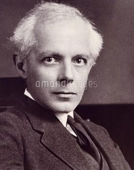 DGA768343 Portrait of Bela Viktor Janos Bartok (Nagyszentmiklos, 1881-New York, 1945), Hungarian com