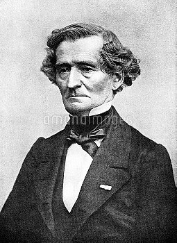 PFH1185610 France: Hector Berlioz (11 December 1803 - 8 March 1869) was a French Romantic composer,