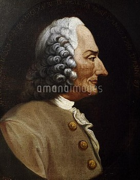 DGA768391 Portrait of Jean-Philippe Rameau (Dijon, 1683-Paris, 1764), French composer, harpsichordis