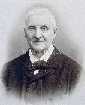 DGA768061 Portrait of Anton Bruckner (Ansfelden, 1824-Vienna, 1896), Austrian composer; (add.info.: