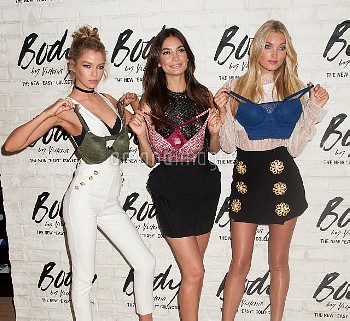 Stella Maxwell, Lily Aldridge, Elsa Hosk at the launch of the all-new Easy collection at the Victori